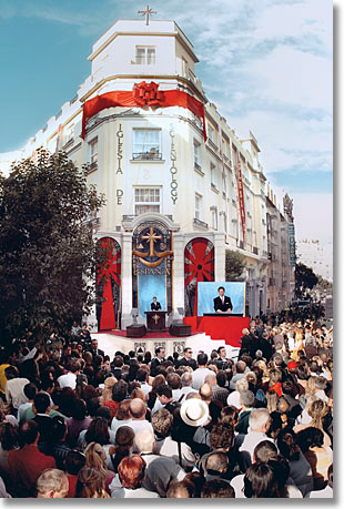 Mr. David Miscavige - Grand Opening, Church of Scientology Madrid, Spain