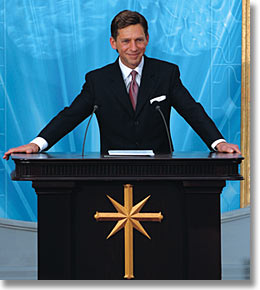 Long Shot - Mr. David Miscavige - Grand Opening, Church of Scientology Madrid, Spain