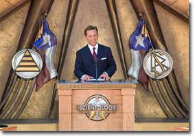 Mr. David Miscavige - Church of Scientology Dallas Grand Opening
