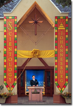 Mr. David Miscavige - Grand Opening, Church of Scientology Johannesburg, South Africa