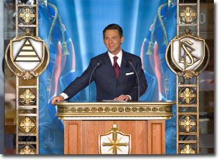 Mr. David Miscavige - Grand Opening, Church of Scientology London