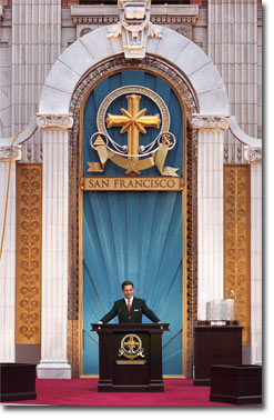 Mr. David Miscavige - Grand Opening, Church of Scientology San Francisco