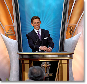 Mr. David Miscavige Chairman of the Board Religious Technology Center Inaugural Address for the Grand Opening of the New Church of Scientology of New York